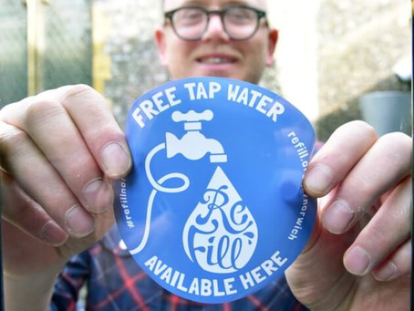 Introducing Refill Merton - Fighting plastic pollution one single-use bottle at a time