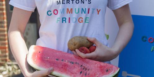 Community Fridge, Melon, Potato (Laura P