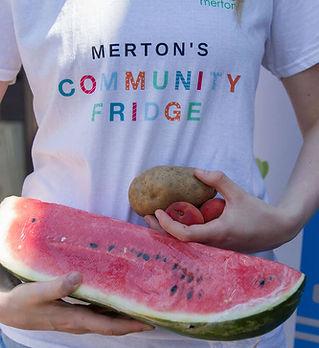 Community Fridge, Melon, Potato (Laura Pink)