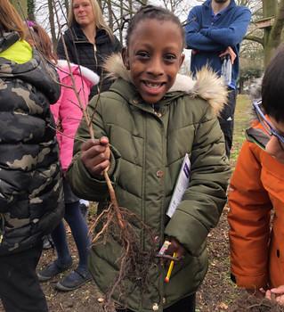 Cricket Green School, Tree Planting, Air