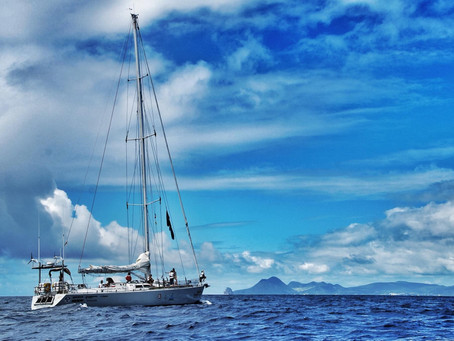 Yanika's voyage of a lifetime is about to begin
