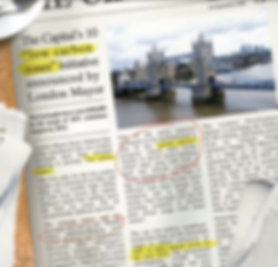 Wandle Valley Low Carbon Zone - newspape
