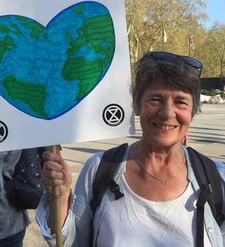 Susanna Exctinction Rebellion Climate Cr