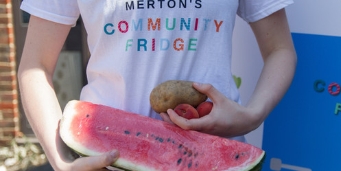 Community Fridge, Watermelon, Potato, La