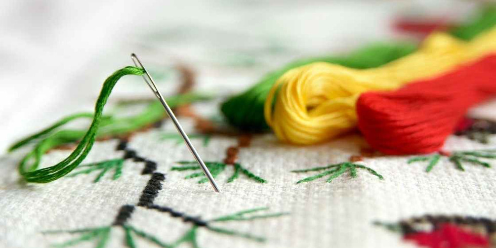Making a Loving Earth Panel: Basic Embroidery Stitches (aged 11 and over)
