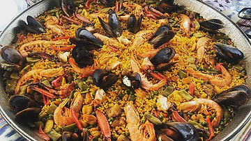 #paella #beach #boat #traditional #mallo