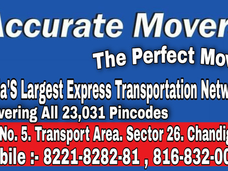 Accurate movers and packers in chandigarh