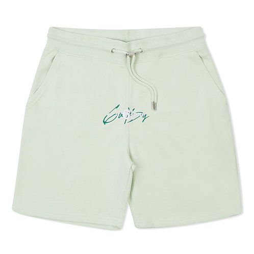 """6IX by ONE 6 ONE """"Pastel Green"""" Shorts"""