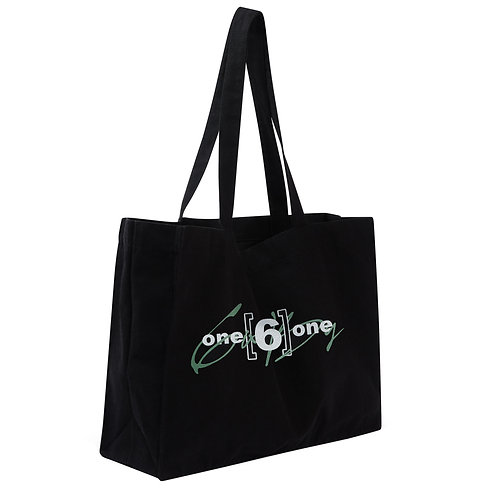 "6IX by ONE 6 ONE ""Pastel Green"" XL Tote Bag"