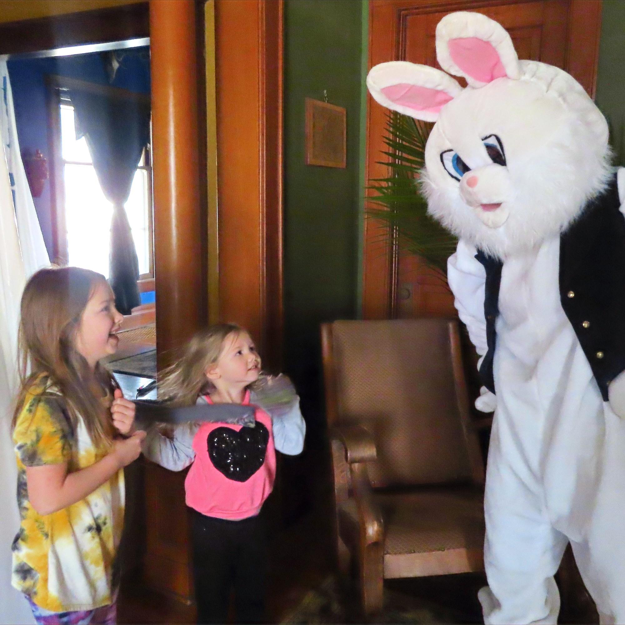 Easter Bunny Encounter