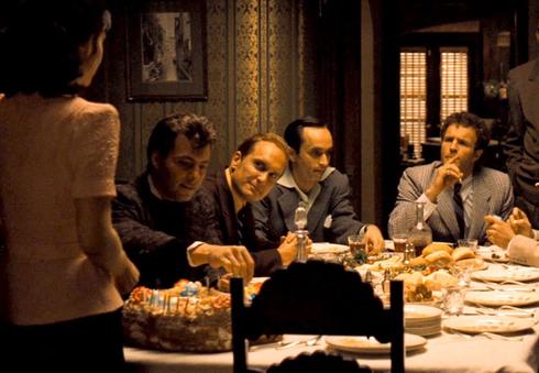 À LA TABLE DU PARRAIN