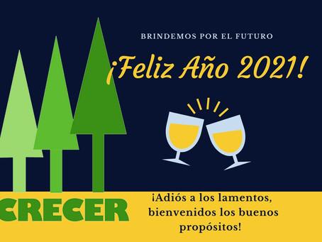 CRECER ( Feliz Año 2021 )