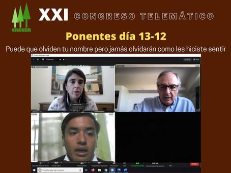 XXI Congreso Telemático ( Ponentes día 13-12 )