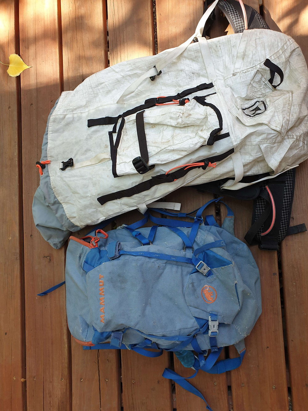 30 and 60 liter backpacks