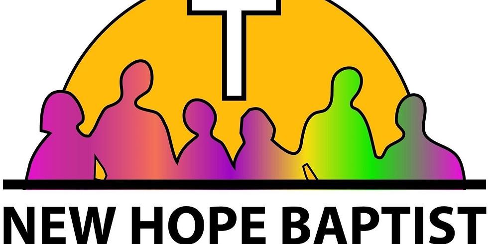 New Hope Baptist UCC - Sunday Worship Service