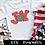 Thumbnail: Joy - Red, Black and White Plaid ~ HTV Transfer ~ Christmas