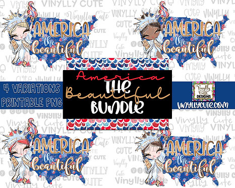 DIGITAL BUNDLE - America The Beautiful