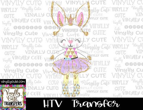 Ballerina Bunny Princess ~ HTV Transfer