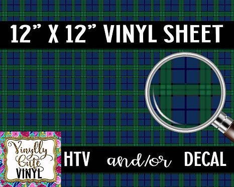 Dad Plaid Vinyl ~ HTV or ADHESIVE DECAL
