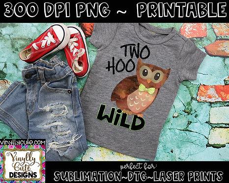 DIGITAL - Two Hoo Wild Boy Owl