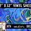 Thumbnail: Blue Gold Swirls ~ HTV or ADHESIVE DECAL