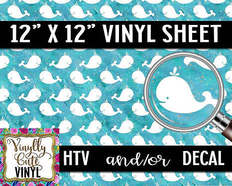 Whaley Fun Vinyl ~ HTV or ADHESIVE DECAL