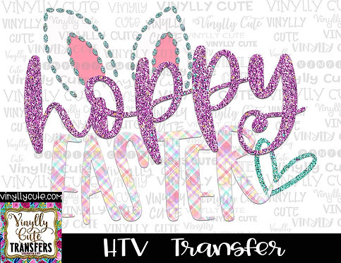 Hoppy Easter ~ HTV Transfer ~ Easter
