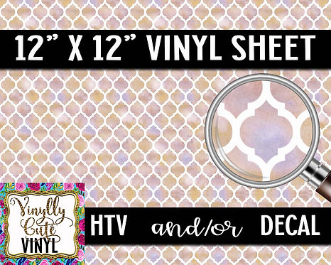 Tiled Vinyl ~ HTV or ADHESIVE DECAL