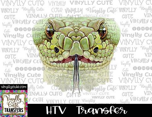 Snake Head ~ HTV Transfer
