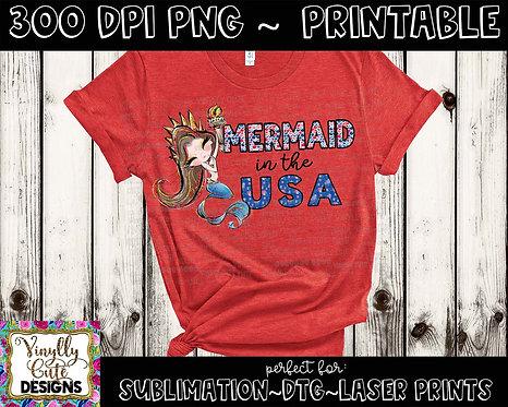 DIGITAL - Mermaid In The USA
