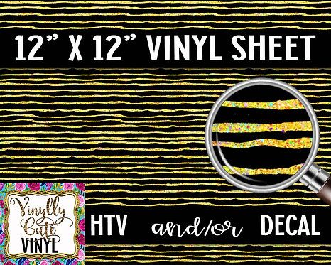 Doodle Bee Vinyl ~ HTV or ADHESIVE DECAL