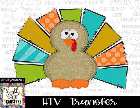 Turkey ~ HTV Transfer ~ Thanksgiving