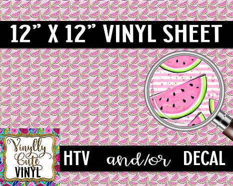 Tiny Melons ~ HTV or ADHESIVE DECAL