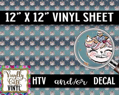 Unikitty Vinyl ~ HTV or ADHESIVE DECAL