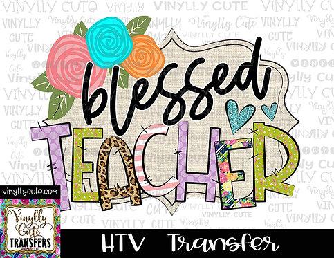 Blessed Teacher ~ HTV Transfer