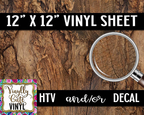 Knotty Wood Vinyl ~ HTV or ADHESIVE DECAL