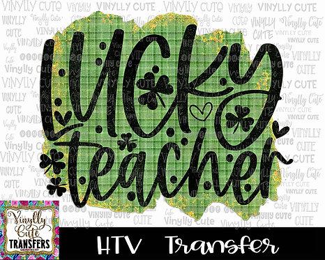 Lucky Teacher ~ HTV Transfer