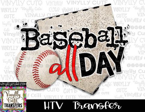 Baseball All Day ~ HTV Transfer