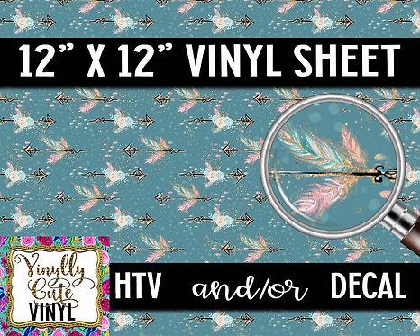 Boho Arrow Vinyl ~ HTV or ADHESIVE DECAL
