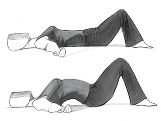 Begin to free lower back pain or tension with simple Somatic movements.