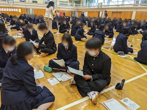 五泉高校1学年の総合探究がスタート