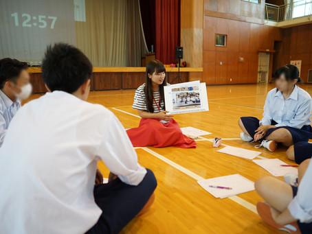 宮城県キャリア教育事業「ミライブラリー」今年も始まりました。