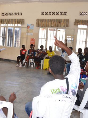 Youth development workshop