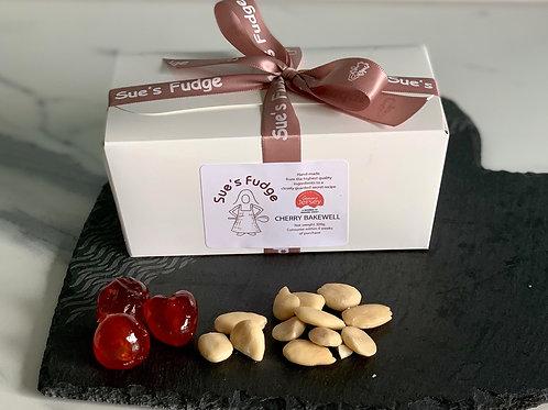 NEW!   Box of Cherry Bakewell Fudge