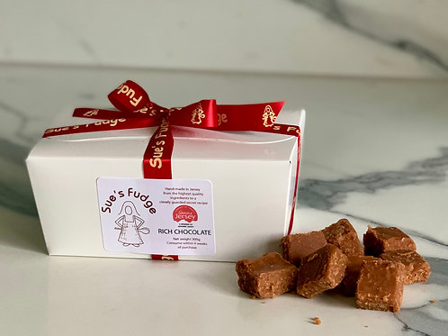 Box of Rich Chocolate Fudge