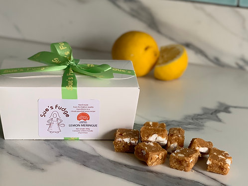 Box of Lemon Meringue Fudge