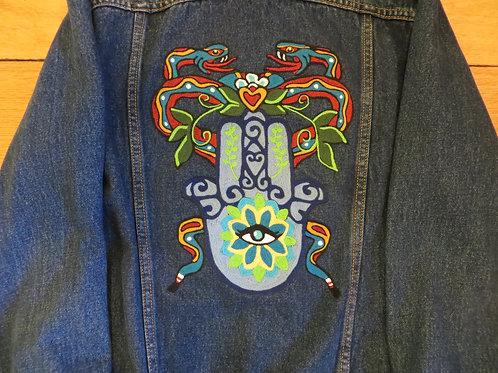 Hamsa Lotus Jacket (Womens Lrg)