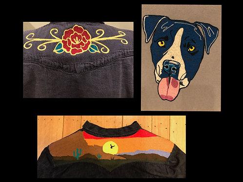 Custom Embroidery deposit