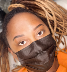 After Ombre powder brows