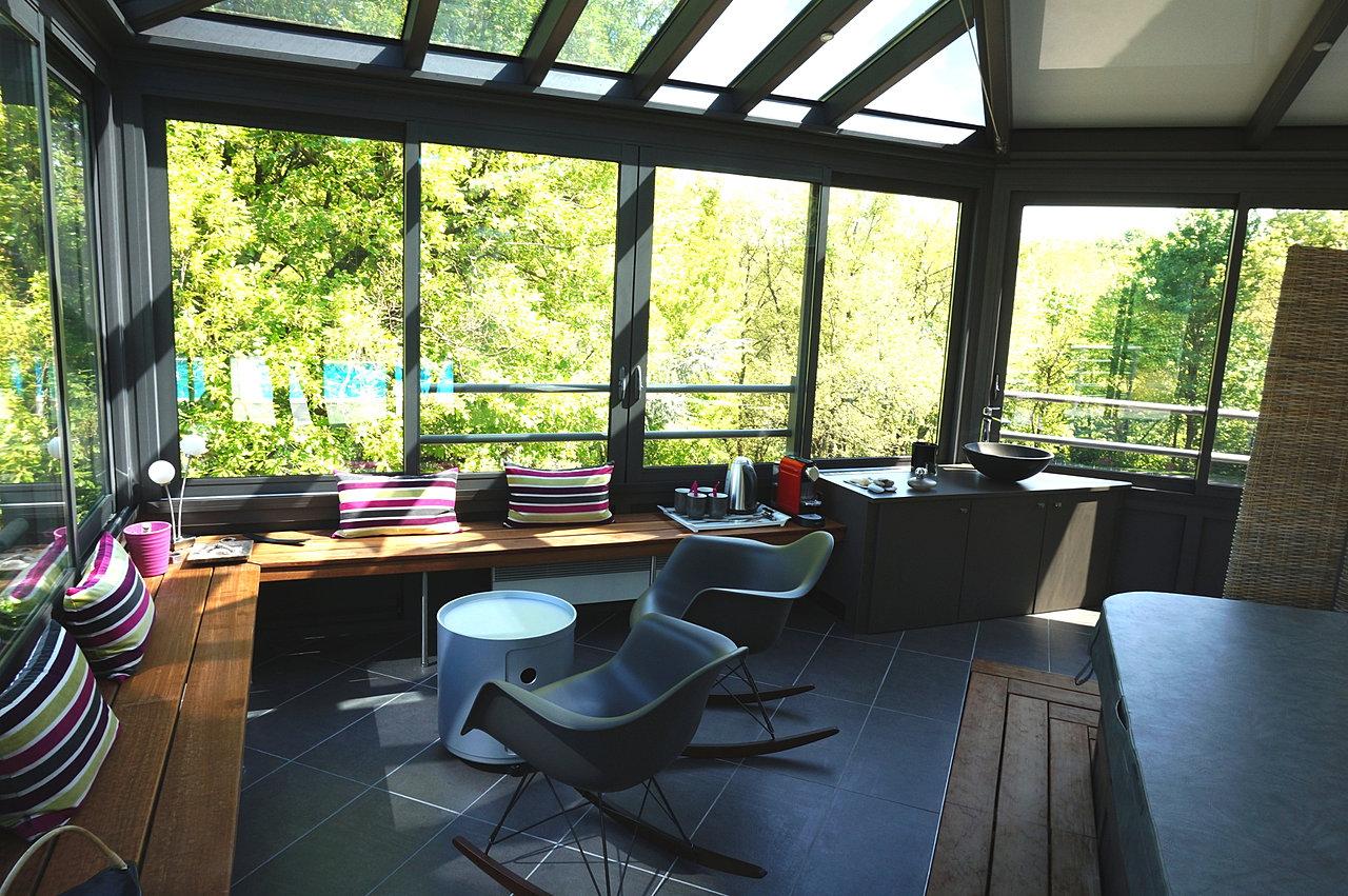 Extension design maison extension maison en bois prix for Extension maison 17